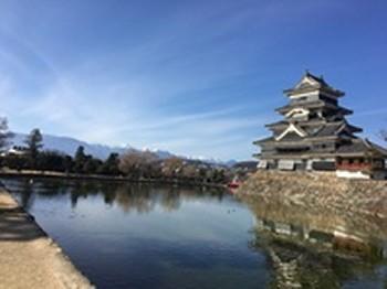 松本城のお休み